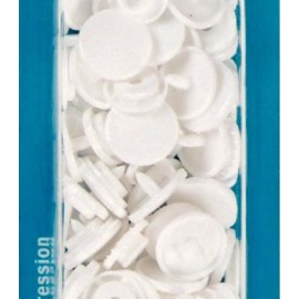 botó de pressió rodó 12,4 mm. blanc Prym 393103