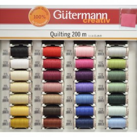 hilo Gütermann Quilting para patchwork. Algodón 200 m