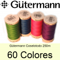 fil coselotodo Gütermann 250 m. 60 colors
